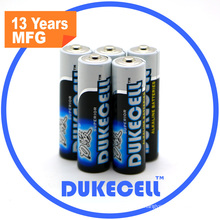 Alkaline Battery Lr6 Size AA Am3 1.5V Battery